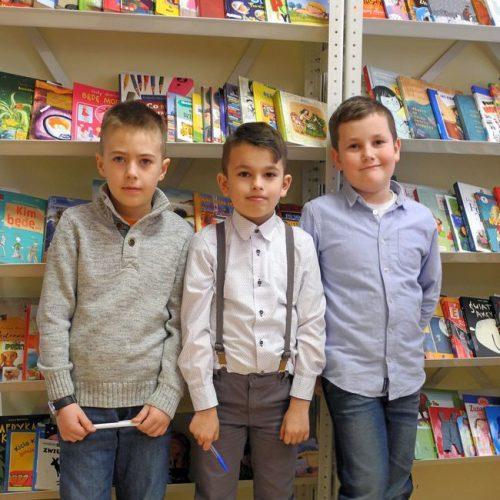 Najmłodsi uczestnicy konkursu z PSP w Długowoli