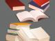 Na zdjęciu kilka rozmieszczonych w przestrzeni książek