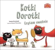Okładka książki:Kotki Dorotki : czytam uważnie