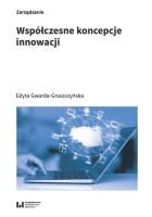 Okładka książki: Współczesne koncepcje innowacji.