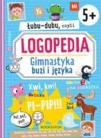 """Oładka książki """"Łubu-dubu czyli Logopedia : gimnastyka buzi i języka"""""""