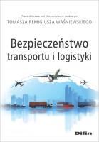 """Okładka książki """"Bezpieczeństwo transportu i logistyki """""""