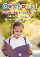 """Okładka książki """"Czytanki zdania i teksty : materiały do nauki czytania metodą sylabową"""""""