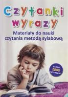 """Okładki książki """"Czytanki wyrazy : materiały do nauki czytania metodą sylabową"""""""