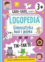 """Okładka książki """"Gadu-gadu czyli Logopedia : gimnastyka buzi i języka"""""""