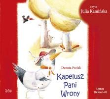 """Okładka książki """"Kapelusz pani Wrony"""""""