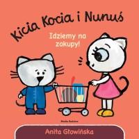 """Okładka książki """"Idziemy na zakupy"""""""