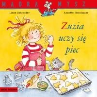 """PKładka książki """"Zuzia uczy się piec"""""""